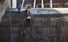 Zapora wodna w Nysie  -torkretowanie na mokro